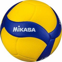 Мячи - Мяч волейбольный Mikasa V200W, 0