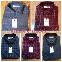 Рубашки - Новые мужские байковые рубашки, 0