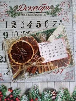 Новогодний декор и аксессуары - Магнит на холодильник, 0