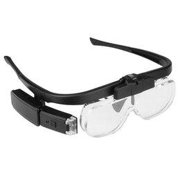 Лупы - Лупа очки с подсветкой  (1.5 / 2 / 2.5х) (NL68), 0