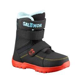 Защита и экипировка - Ботинки для сноуборда детские Salomon Whipstar, 0