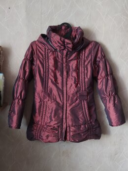Куртки и пуховики - Куртка демисезон для девочки 122 см, 0