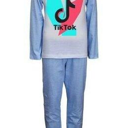 Домашняя одежда - Детская пижама для мальчика с принтом. рост 128, 0