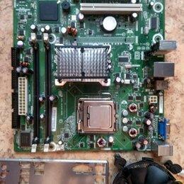 Материнские платы - Материнская плата Intel DG31GL Socket 775  + Cooler, 0