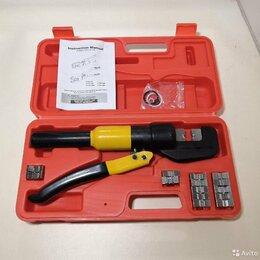 Товары для электромонтажа - Пресс гидравлический для клемм наконечников гильз, 0
