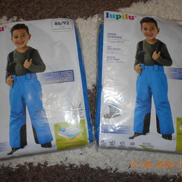 Полукомбинезоны и брюки - Новый полукомбинезон Lupilu. , 0