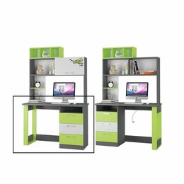 Компьютерные и письменные столы - Стол Письменный Граффити, 0