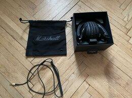 Наушники и Bluetooth-гарнитуры - наушники Marshall monitor bluetooth, 0