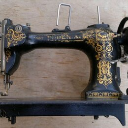 Швейные машины - швейная машинка немецкая Phoenix ,раритет, рабочая,19 век, 0