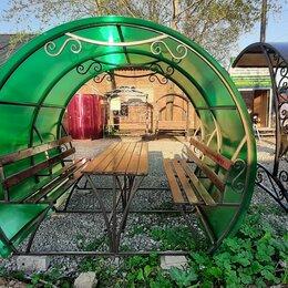 Комплекты садовой мебели - Беседка металлическая , 0