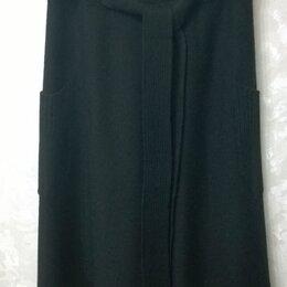 Юбки - Черная юбка, 4-клинка, 0