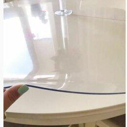 Скатерти и салфетки - Гибкое стекло на круглый большой стол. шир - 1,4 м, 0