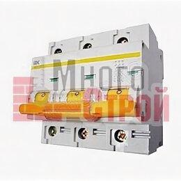 Защитная автоматика - Автоматический выключатель IEK BA47-100 3P 80A 10кА характеристика С, 0