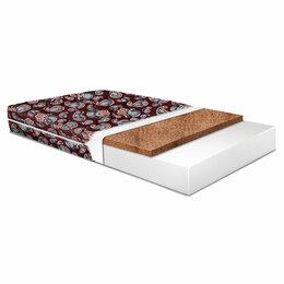 Матрасы и наматрасники - Детский матрас 120х60 см красно-коричневый…, 0