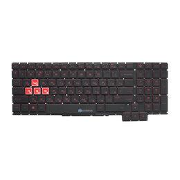 Клавиатуры - Клавиатура для HP OMEN 15-ce000 с подсветкой, 0