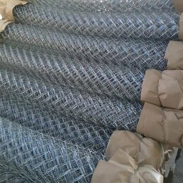 Заборчики, сетки и бордюрные ленты - Сетка рабица оцинкованная Фатеж, 0