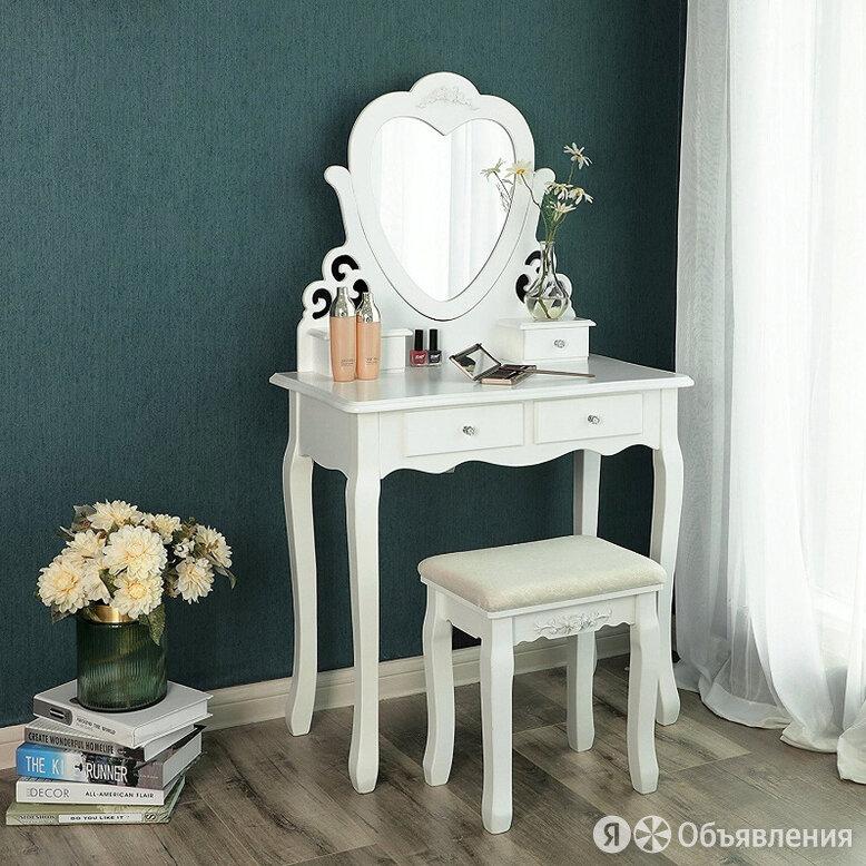 Туалетный столик, косметический с зеркалом по цене 13500₽ - Столы и столики, фото 0