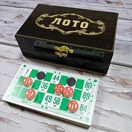 Настольные игры - Новое лото в подарочной коробке, 0