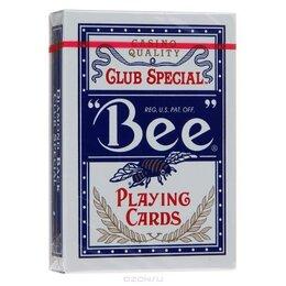 Настольные игры - Покер, карты Bee, с покрытием, 0