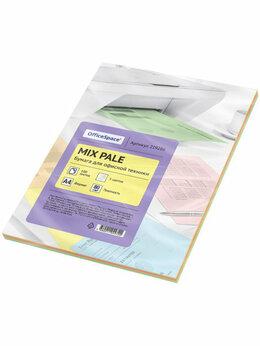 Бумага и пленка - Бумага цветная pale mix А4, 5 цветов, 0