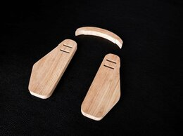 Рукоделие, поделки и товары для них - Боковина для сумок. Деревянные вставки.…, 0