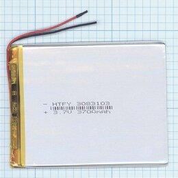 Аккумуляторы - Аккумулятор Li-Pol (батарея) 3*83*103мм 2pin…, 0