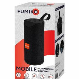 Портативная акустика - Портативная колонка FUMIKO MOBILE черная, 0