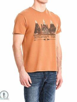 Футболки и майки - Оранжевая футболка W3948BRONZE, 0