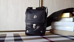 Сумки - Мужская сумка из натуральной кожи Roccobarocco, 0