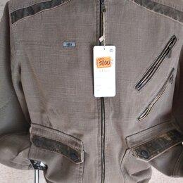 Куртки - Новая мужская ветровка из плотного котона  в стиле миллитари Турция  32 р., 0