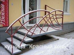 Лестницы и элементы лестниц - Металлическое крыльцо с сварными перилами -…, 0