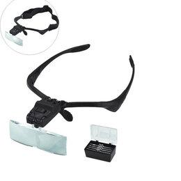 Лупы - Лупа очки  (9892В), 0