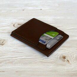 Визитницы и кредитницы - Картхолдер кожаный ручная работа, 0