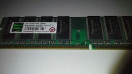 Модули памяти - оперативная память DDR-1, 1 Гб, 400 МГц…, 0