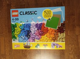 Конструкторы - Lego Classic 11717 Кубики, кубики, пластины, 0