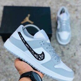 Кроссовки и кеды - Nike air jordan 1 mid white/White-White Кроссовки осенние , 0