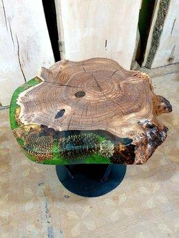 Столы и столики - Столик лофт Столик из эпоксидной смолы, 0