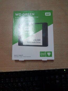 Внешние жесткие диски и SSD - SSD 240ГБ WD (новая), 0