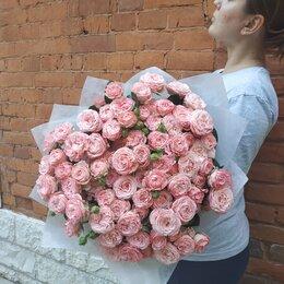 Цветы, букеты, композиции - Букет из пионовидных роз, 0