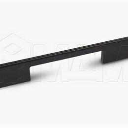 Комплектующие - Ручка-скоба 224мм черный матовый: G029.0224.MB, 0