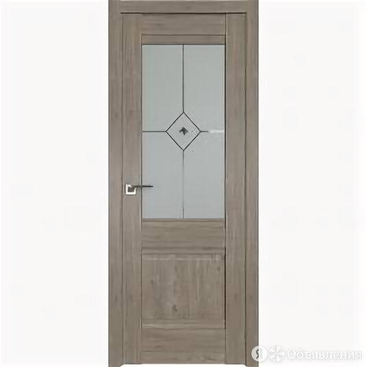 Межкомнатные двери Profil Doors 2XN Каштан темный Стекло матовое с прозрачным... по цене 10182₽ - Межкомнатные двери, фото 0