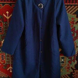Пальто - Пальто новое женское 50-52 размер кашемир, 0