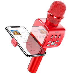 Микрофоны - Караоке-микрофон JoyRoom JR-MC3 (Red), 0
