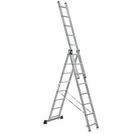 Лестницы и элементы лестниц - Лестницы секционные АЛЮМЕТ Лестница алюминиевая…, 0