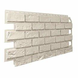 Сайдинг - Панель отделочная VILO  Brick IVORY фуга, 0