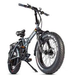 Мототехника и электровелосипеды - Электровелосипед Eltreco Multiwatt New (Серый-2327), 0