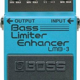 Аксессуары и комплектующие - Педаль эффектов для бас-гитары Boss LMB-3, 0