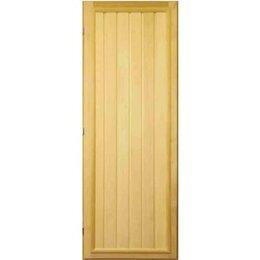 Двери - Посад Дверь «Прямая вагонка» левая, 0