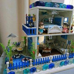 Игровые наборы и фигурки - Кукольная миниатюра Домик в Санторини, 0