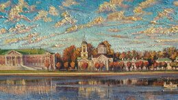Картины, постеры, гобелены, панно - Осень в усадьбе Кусково, 0